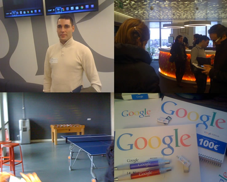 Cocktail en Google Madrid
