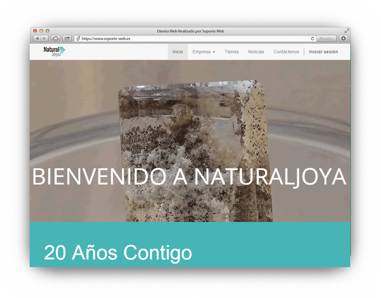 Diseño Web Natural Jorya